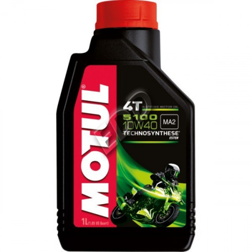 MOTUL 5100 10W-40 1 литр