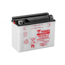 Аккумулятор YUASA Y50-N18L-A, 12В, 20Ач