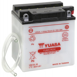 Аккумулятор YUASA YB10L-B, 12В, 11Ач