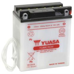 Аккумулятор YUASA YB12A-B, 12В, 12Ач
