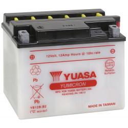 Аккумулятор YUASA YB12B-B2, 12В, 12Ач