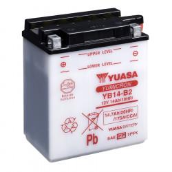 Аккумулятор YUASA YB14-B2, 12В, 14Ач