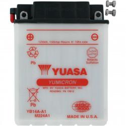 Аккумулятор YUASA YB14A-A1, 12В, 14Ач