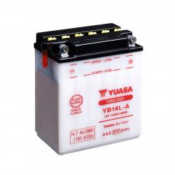 Аккумулятор YUASA YB14L-A, 12В, 14Ач