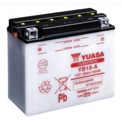 Аккумулятор YUASA YB18-A, 12В, 18Ач