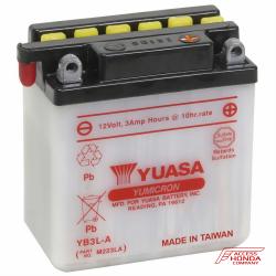 Аккумулятор YUASA YB3L-A, 12В, 3Ач