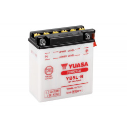 Аккумулятор YUASA YB5L-B с электролитом, 12В, 5Ач
