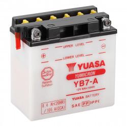 Аккумулятор YUASA YB7-A, 12В, 8Ач