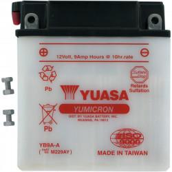 Аккумулятор YUASA YB9A-A, 12В, 9Ач
