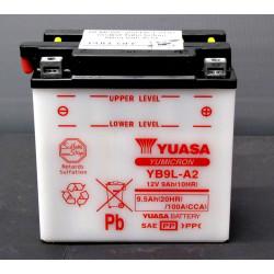 Аккумулятор YUASA YB9L-A2, 12В, 9Ач