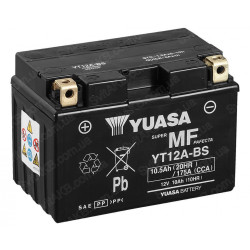 Аккумулятор YUASA YT12A-BS, 12В, 10Ач