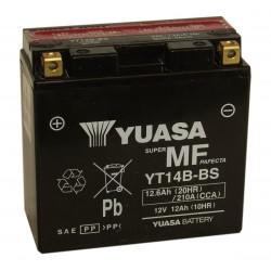 Аккумулятор YUASA YT14B-BS (14-B4), 12В, 12Ач