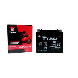 Аккумулятор YUASA YTX12-BS, 12В, 10Ач