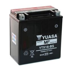 Аккумулятор YUASA YTX16-BS, 12В, 14Ач