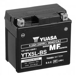 Аккумулятор YUASA YTX5L-BS, 12В, 4Ач