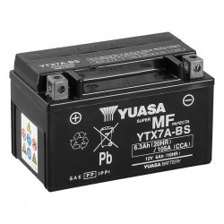 Аккумулятор YUASA YTX7A-BS, 12В, 6Ач