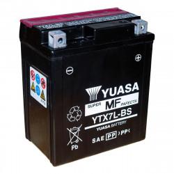 Аккумулятор YUASA YTX7L-BS, 12В, 6Ач