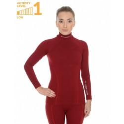 Женская термофутболка с длинным рукавом Brubeck Wool Merino 78% (до -50 °C)