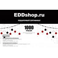 Подарочный сертификат новогодний на 1000 рублей