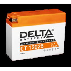 Аккумулятор DELTA YT4B-BS, Д*Ш*В 114*39*87