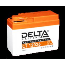 Аккумулятор DELTA CT12026, YTR4A-BS, Д*Ш*В 115*50*86