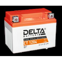 Аккумулятор DELTA YB4L-B, YB4L-A, YTX4L-BS, Д*Ш*В 114*70*87