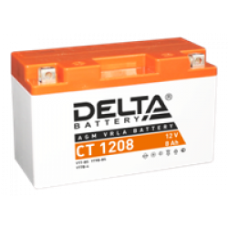 Аккумулятор DELTA YT7B-BS, YT7B-4, Д*Ш*В 150*66*95