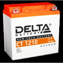 Аккумулятор DELTA YB9A-A, YB9-B, 12N9-4B-1, Д*Ш*В 137*77*135
