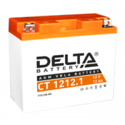 Аккумулятор DELTA CT1212.1, YT12B-BS, Д*Ш*В 151*71*130