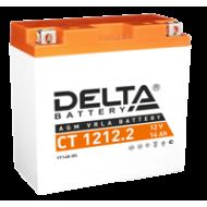 Аккумулятор DELTA CT1212.2, YT14B-BS, Д*Ш*В 151*71*146