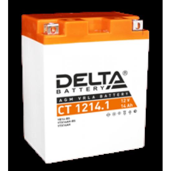Аккумулятор DELTA YB14-BS, YTX14AH, YTX14AH-BS, Д*Ш*В 132*89*164