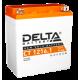 Аккумулятор DELTA CT1216.1, YTX16-BS,    YB16B-A, Д*Ш*В 151*88*164
