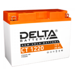 Аккумулятор DELTA Y50-N18L-A3, YTX24HL-BS, YTX24HL, Д*Ш*В 204*91*159