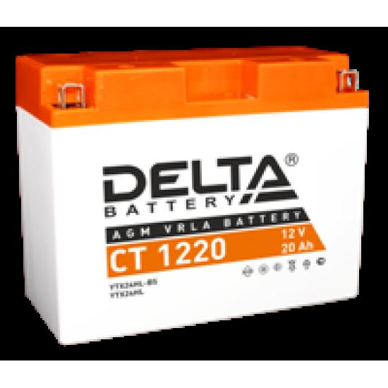 Аккумулятор DELTA CT1220, Y50-N18L-A3, YTX24HL-BS, YTX24HL, Д*Ш*В 204*91*159