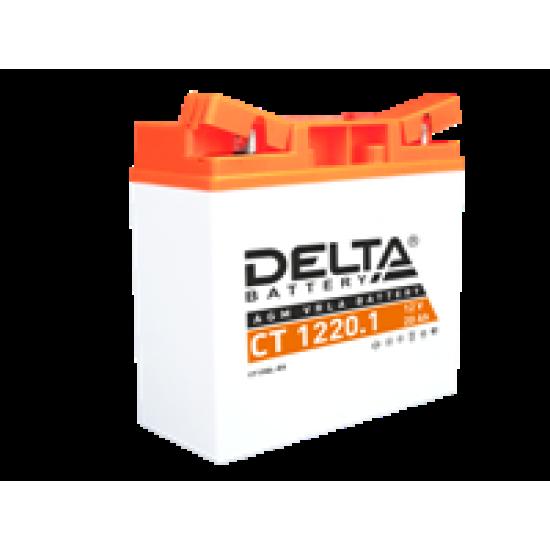 Аккумулятор DELTA CT1220.1, YT19BL-BS, Д*Ш*В 181*77*167