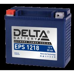 Аккумулятор DELTA EPS1218 YTX20-BS, YTX20H-BS, Д*Ш*В 176*87*154