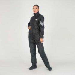 Дождевик (куртка, брюки) Hyperlook Titan, цвет черный
