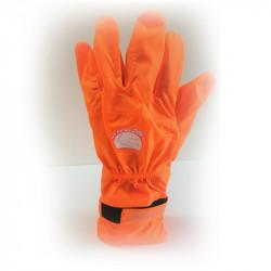 Перчатки дождевые Hyperlook Element, цвет оранжевый