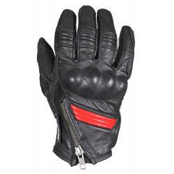 Перчатки дорожные мужские INFLAME BOMBER, кожа, черные