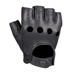 Перчатки обрезанные мужские INFLAME CHOPER, кожа, черные