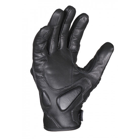 Перчатки дорожные мужские INFLAME STREET RACER, кожа, черные