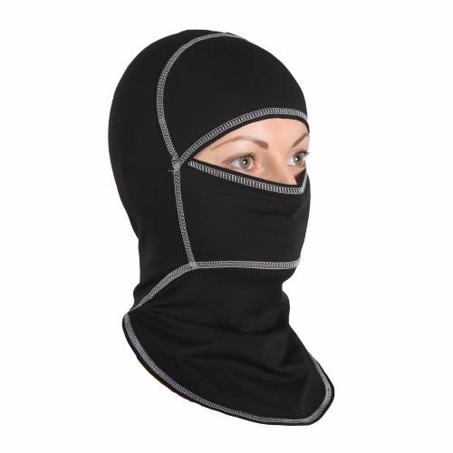 Подшлемник летний INFLAME Comfort Plus, черный (цвет шва черный)