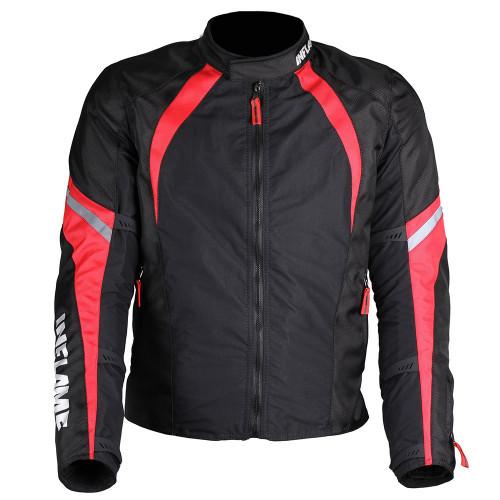 Куртка мужская INFLAME BREATHE текстиль цвет черно-красный
