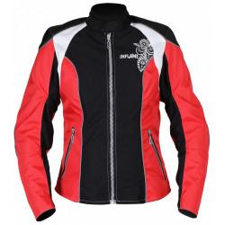 Куртка женская INFLAME ECSTASY красно-черная