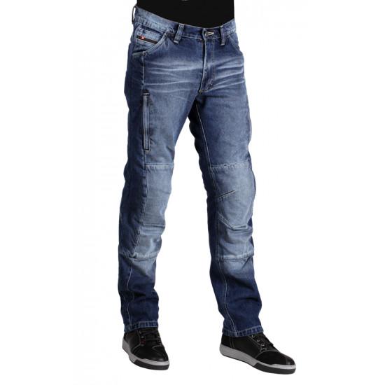 Мотоджинсы мужские INFLAME RAGE, цвет синий