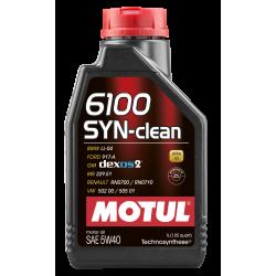 Motul 6100 SYN-CLEAN 5W40 1л