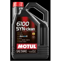 Motul 6100 SYN-CLEAN 5W40 4л