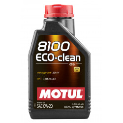 Motul 8100 Eco-clean 0W20 1л