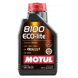 Motul 8100 Eco-lite 5W20 1л
