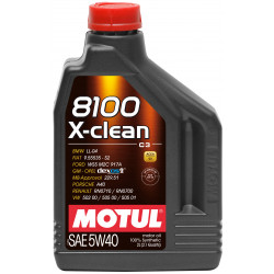 Motul 8100 X-clean 5W40 4л